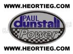 Paul Dunstall Power Tank and Fairing Transfer Decal DDUN13-4